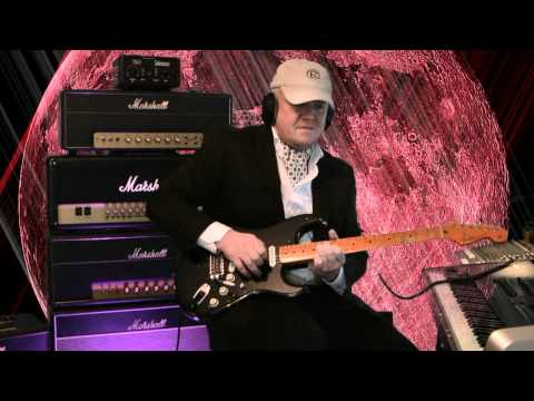 David Gilmour Tone Test with Paul Reed Smith PRS 305 & Gilmour Black Strat Demo Part 2 Boogie Mark V