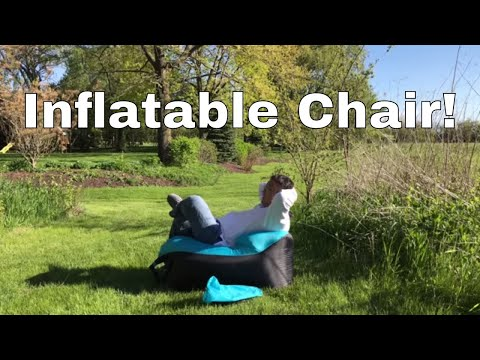 Inflatable travel hangout lounger chair sofa by Great Home review