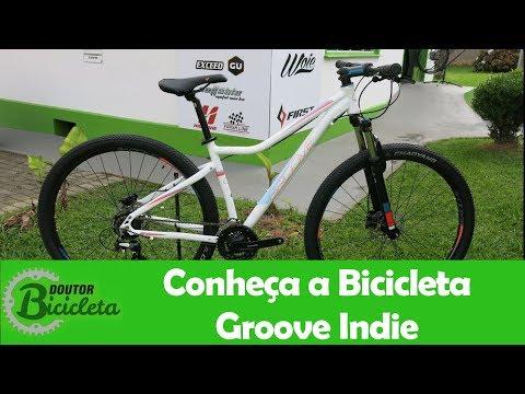 cb105daa5 Bike Groove Indie Branca 2018 Aro 29 24 Vel - Doutor Bicicleta