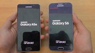 Samsung Galaxy A5 (2016) vs Galaxy S6 - Speed & Camera Test (4K)