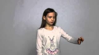 Илария Назарова - кастинг на рекламу шоколадной пасты