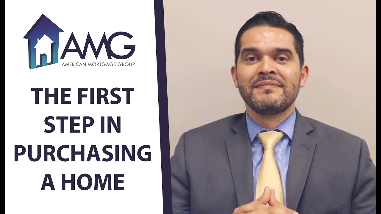 What's the First Step in the Home Buying Process?