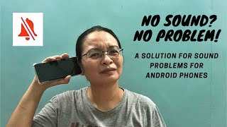 Quick fix on sound problems in android phones (subtitle available instructions on description below)