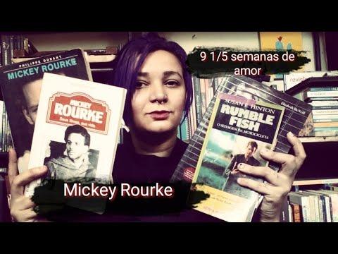 Mickey Rourke nas telinhas e na Literatura ??