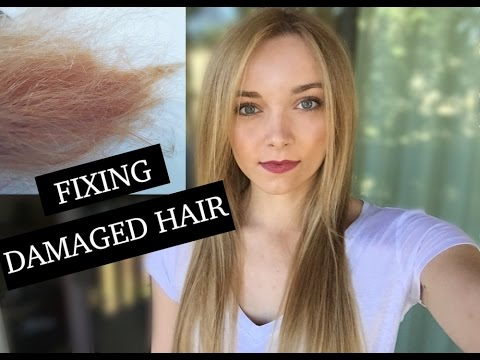 Video How I Fixed Extremely DAMAGED HAIR Fast And Cheap!