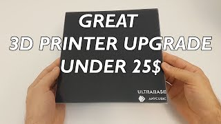 Upgrade your 3D printer - Anycubic UltraBase review