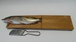 Приспособления для чистки рыбы от чешуи