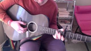 "How to Play ""Blue Ridge Mountains"" by Fleet Foxes"