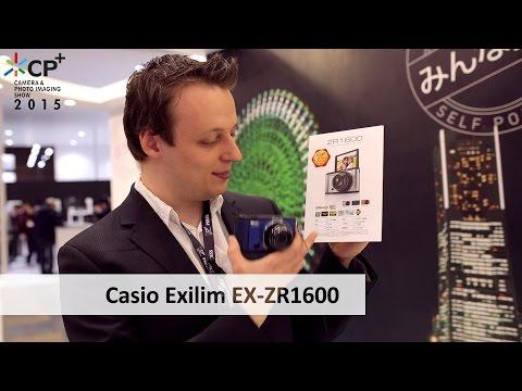 CP+ 2015 | Casio Exilim EX-ZR1600 - Kompaktkamera im Hands-On Test [Deutsch]