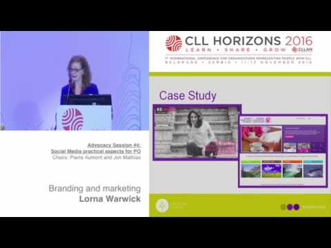 Advocacy session #4: Branding and marketing
