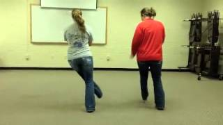 Little Black Book Line Dance Instruction