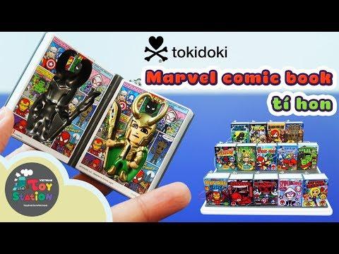 Tokidoki - Truyện tranh tí hon Frenzies, siêu anh hùng Marvel Comic book - ToyStation 77