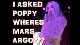 I ASKED POPPY WHERES MARS ARGO??? - poppy computer tour dallas texas