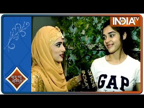 Zara aka Eisha visits the sets of Ishq Subhan Allah