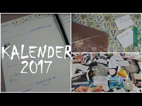 Mein Leuchtturm Kalender 2017 + Vision Board