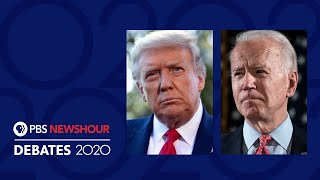 WATCH LIVE: The First 2020 Presidential Debate | Special Coverage & Analysis | PBS NewsHour