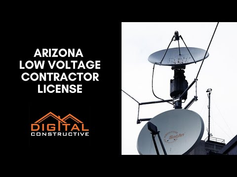 Ultimate Arizona Low Voltage License Guide - Electricians and Low ...