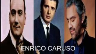 """3 TENORI - CARUSO - CORELLI  - BOCELLI - in """" RECONDITA ARMONIA """""""