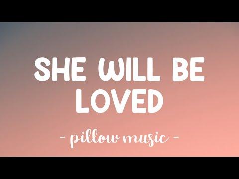 She Will Be Loved - Maroon 5 (Lyrics) 🎵
