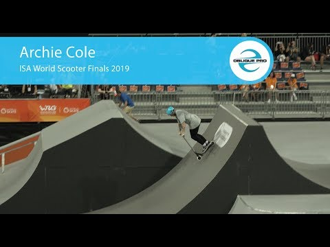 Archie Cole - ISA Men's World Scooter Semi Finals 2019