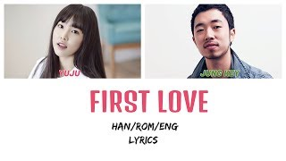 Jung Key (스치는)  - FIRST LOVE ft YUJU GFRIEND (Color Coded Lyrics Han/Rom/Eng)