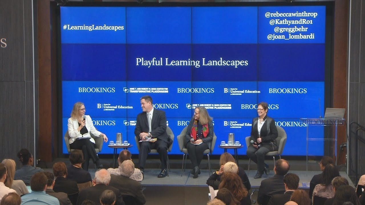 Panel 1: How early learning can be realized through play and caregiver interaction