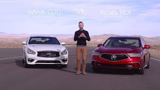 Infiniti Q70 vs. Acura RLX – Video Review Comparison | Kholo.pk