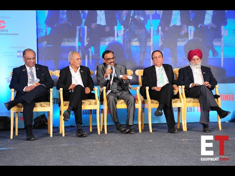 Yellow Dot Award 2019-Panel discussion:Opportunities in Construction Equipment Sector & Way Forward