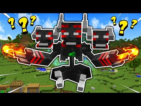 THE UPGRADED MINECRAFT WITHER BOSS?