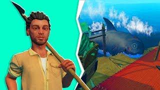 We Got A GLITCHED Shark! - Raft #3 | JeromeACE
