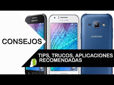 Samsung Galaxy  J1 ACE  Tips, Trucos, Aplicaciones Recomendadas
