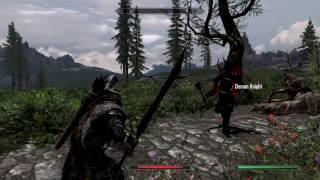 realistic ragdolls and force skyrim - Kênh video giải trí