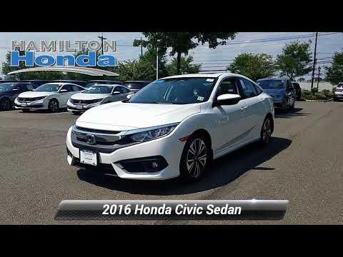 Certified 2016 Honda Civic Sedan EX-T, Hamilton Township, NJ 27215P