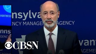 Pennsylvania governor plans to announce phased reopening