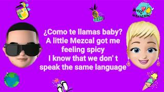 Con Calma   Daddy Yankee, Katy Perry, Snow (LyricsLetra) English Remix 4K