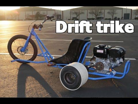 MOTORIZED DRIFT TRIKE HOME BUILD PROJECT.