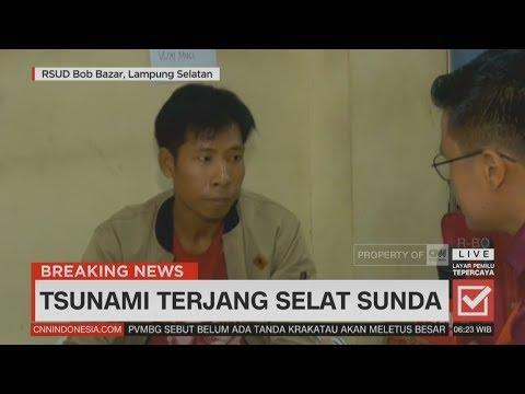 Kesaksian Korban  Selamat dari Tsunami Selat Sunda