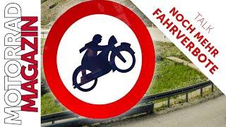 Noch mehr Fahrverbote für Motorräder! - Die Tricks der Politik - Wie man uns für dumm verkauft