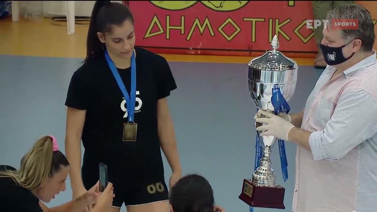 Χάντμπολ Γυναικών : Πρωταθλητής Ελλάδος 2020-21 ο ΠΑΟΚ | 27/6/21 | ΕΡΤ