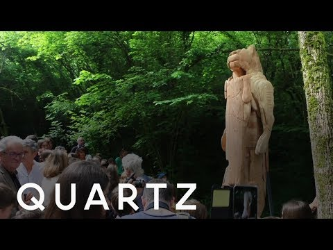 The French Artist Living Inside His Statues