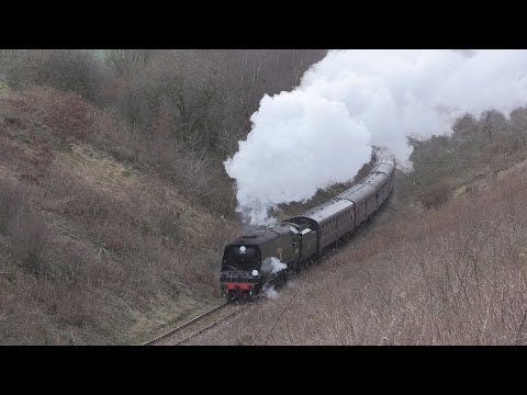 Churnet Valley Railway Winter Steam Gala 22nd February 2014