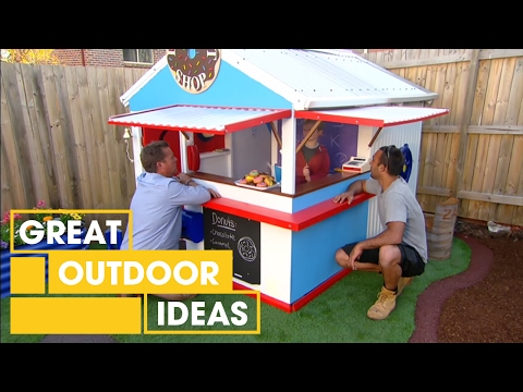 Adam and Jason's Cubby House Makeover | Outdoor | Great Home Ideas
