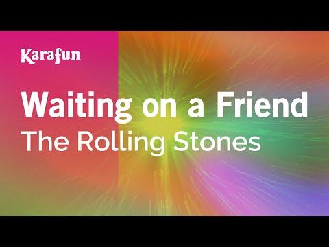 Waiting on a Friend - The Rolling Stones | Karaoke Version | KaraFun