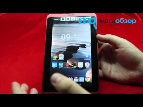 Обзор Acer Iconia Tab B1-721. Review