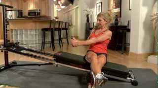 Oblique Twist on the Total Trainer Home Gym