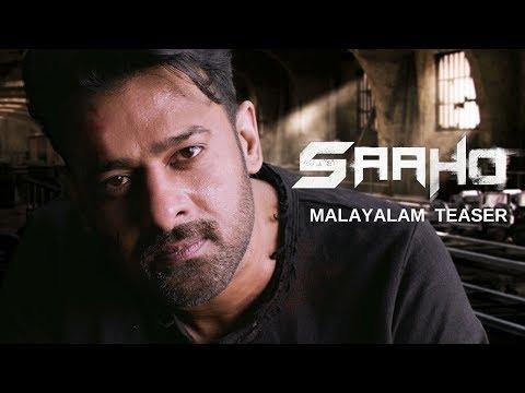 Saaho Malayalam movie teaser - Prabhas