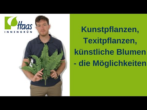 Kunstpflanzen, Kunstblumen, künstliche Pflanzen & Blumen: Was gibt es für Möglichkeiten?