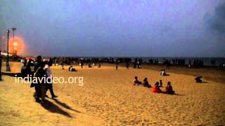 A night at Shanghumugham Beach, Thiruvananthapuram
