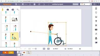 How to create animation videos - Animaker Tutorial | Walking Character Animation :: Tutorial 01