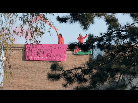 Palestine Action – Double direct action against Elbit this week (new film)